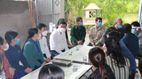 Sở Giáo dục và Đào tạo Nghệ An thăm hỏi gia đình học sinh bị tử vong ở Nam Đàn