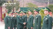 Ban Chỉ đạo 1389 Bộ Quốc phòng kiểm tra một số đơn vị trên địa bàn Nghệ An