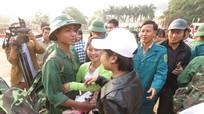 Hơn 3.000 thanh niên Nghệ An nô nức lên đường nhập ngũ