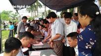 Đô Lương: 600 người tham gia hiến máu tình nguyện