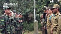 Phối hợp tuần tra song phương bảo vệ biên giới Việt - Lào