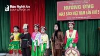 Sôi nổi các hoạt động nhân Ngày Sách Việt Nam ở Nghệ An