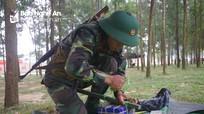Sư đoàn 324 kiểm tra kết thúc huấn luyện cho chiến sỹ mới