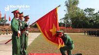 Trang nghiêm lễ tuyên thệ chiến sĩ mới tại Sư đoàn 324