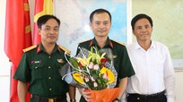 Bàn giao chức danh chỉ huy trưởng Ban CHQS huyện Đô Lương