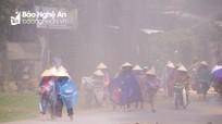 Diễn tập phòng chống lụt bão - tìm kiếm cứu nạn năm 2018 huyện Anh Sơn