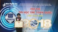 Nghệ An đạt 3 giải Ba tại Hội thi Tin học trẻ toàn quốc