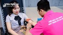 """""""Giọt hồng Nghệ Tĩnh"""" tại Hà Nội thu hút hơn 500 lượt tình nguyện viên tham gia"""