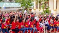 Hàng trăm học sinh hào hứng với hoạt động ngoại khóa chung tay tiết kiệm điện