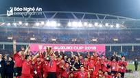 ĐT Việt Nam và ĐT Pháp nâng Cup Vàng nằm trong 7 sự kiện thể thao nổi bật năm 2018