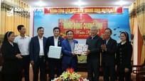 Ban Đoàn kết công giáo Đô Lương chúc mừng ngày thành lập Đảng và Tết cổ truyền  