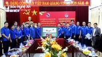 Thắt chặt tình đoàn kết hữu nghị tuổi trẻ Nghệ An - Bôlykhămxay (Lào)
