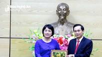 Nghệ An đề nghị Đại sứ Việt Nam tại Singapore hỗ trợ xúc tiến, thu hút đầu tư