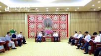 Đại sứ Israel tin tưởng sự phát triển nông nghiệp ứng dụng công nghệ cao tại Nghệ An