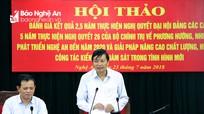 6 tháng đầu năm 2018 Nghệ An thi hành kỷ luật 224 đảng viên