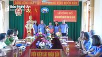 Trao Quyết định bổ nhiệm Phó Viện trưởng Viện kiểm sát nhân dân huyện Anh Sơn