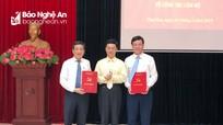 Thị xã Thái Hòa (Nghệ An) có tân Bí thư, Phó Bí thư Thị ủy