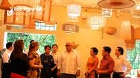 Cuba mong muốn Nghệ An hỗ trợ đào tạo nghề mây, tre đan