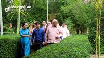 Đoàn đại biểu cấp cao Ủy ban Bảo vệ cách mạng Cuba thăm các khu di tích tại Nghệ An