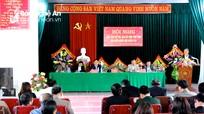 Đại biểu Quốc hội đề nghị huyện Anh Sơn có biện pháp xử lý dứt điểm tình trạng ô nhiễm rác thải