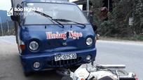 Đâm trực diện xe tải, nam thanh niên bị thương nặng