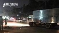 Xe tải va chạm xe máy, một người bị thương nặng