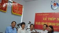 Bảo tàng Báo chí Việt Nam tiếp nhận hiện vật của Nhà báo, Liệt sỹ Đặng Loan