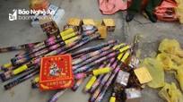 Bị bắt khi vận chuyển nửa tạ pháo từ Lào về Nghệ An tiêu thụ