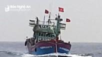 Ngã vào thành tàu khi đánh cá trên biển, một ngư dân Nghệ An tử vong