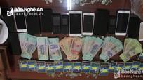 Xóa sổ nhiều đường dây đánh bạc công nghệ cao ở Nghệ An