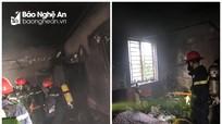 Người phụ nữ ở TP Vinh gây cháy nhà vì là quần áo rồi bỏ quên sang hàng xóm chơi