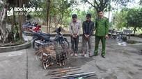 Bắt nhóm trộm chó mang hung khí, chém công an bị thương