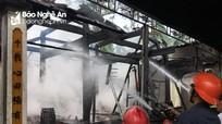 Nhà thờ họ 12 đời ở Nghệ An bị lửa thiêu rụi