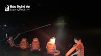 Xuyên đêm tìm thi thể 2 chú cháu ở Nghệ An đuối nước khi đánh cá ở đập