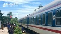 Băng qua đường sắt, người đàn ông bị tàu hỏa đâm tử vong