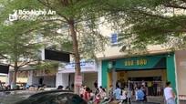 Cháy quán bún đậu tại chung cư ở thành phố Vinh, nhiều người dân tháo chạy giữa trưa