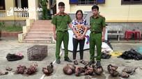 11 con khỉ đã chết trong tủ lạnh của bà trùm 'hàng con' ở Nghệ An