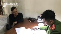 Bắt giữ ổ nhóm thu tiền bảo kê hoa Tết ở thành phố Vinh  