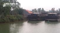 Thi thể cụ bà trên sông Mai Giang