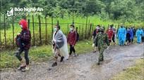 Nghệ An: Phát hiện 9 đối tượng nhập cảnh trái phép qua đường mòn biên giới