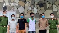 Nghệ An: Tạm giữ 4 đối tượng chơi 'liêng' ăn tiền  trong thời gian thực hiện Chỉ thị 16