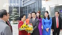 Đoàn công tác Ủy ban Dân tộc Quốc hội Lào thăm và làm việc tại Nghệ An