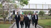 Đoàn công tác tỉnh Bình Dương tham quan dự án sản xuất sữa TH