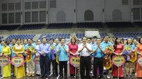 Hơn 450 vận động viên tham gia hội thao ngành Tài nguyên và Môi trường