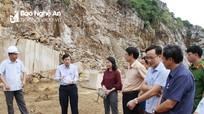 Cần lưu ý biện pháp an toàn trong khai thác ở mỏ đá Hoàng Mai