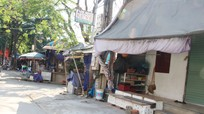 Vẫn còn lúng túng trong giải tỏa vi phạm hành lang ATGT ở thị xã Thái Hòa