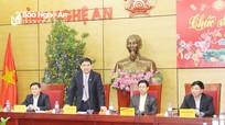 Thường trực Tỉnh ủy gặp mặt nguyên lãnh đạo tỉnh qua các thời kỳ