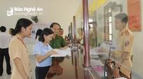 Thị xã Hoàng Mai cần xử lý nghiêm việc phơi thóc lúa, dựng rạp cưới trên Quốc lộ, tỉnh lộ