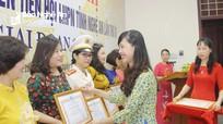 Tuyên dương phụ nữ điển hình tiên tiến ở Nghệ An