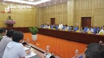 Nghệ An kiến nghị Quốc hội 13 nhóm vấn đề về kinh tế - xã hội